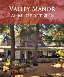 Valley Manor - AGM Report 2018