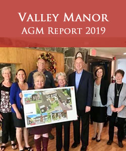 Valley Manor - AGM Report 2019
