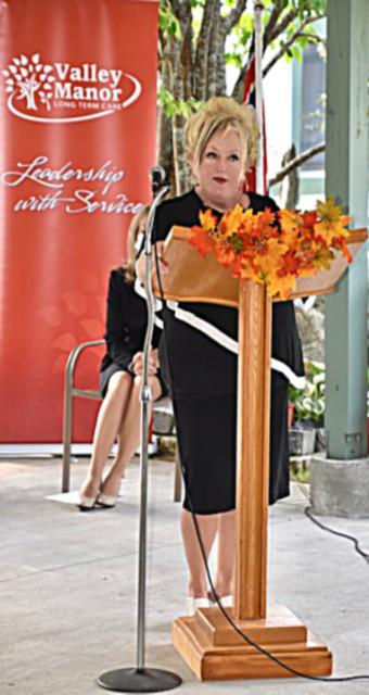 <b>Valley Manor CEO, Trisha Sammon</b>