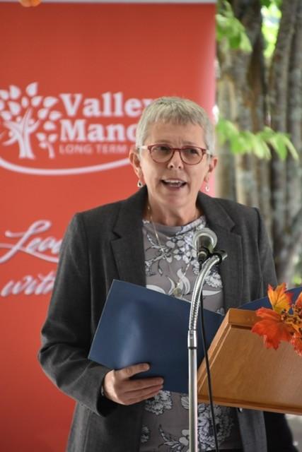<b>Township of Madawaska Valley Mayor, Kim Love</b>